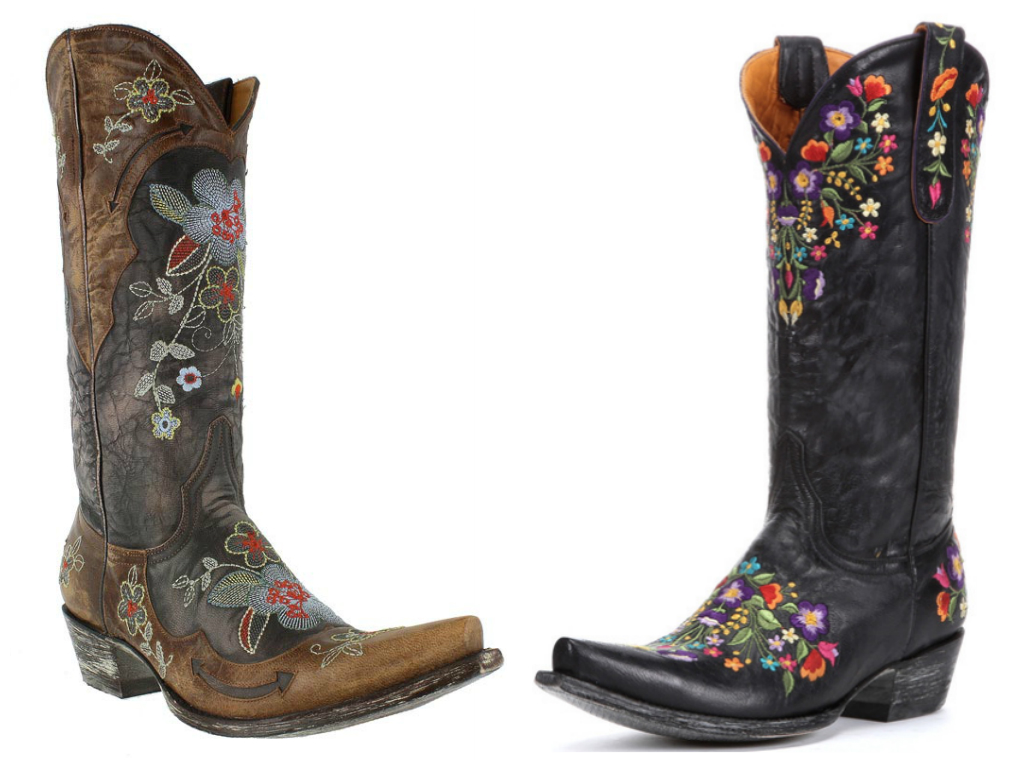 Amazon.com | Corral Women's Gray Stud and Embroidered Western Boots (7) |  Boots