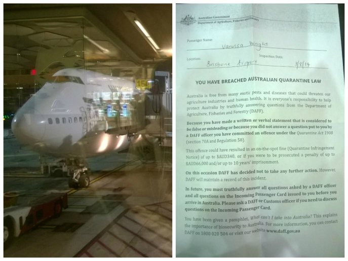 Left: our plane Right: the super threatening letter