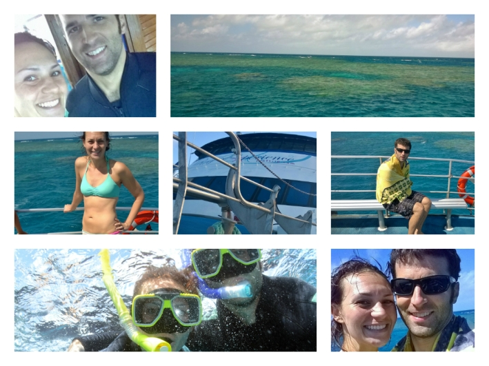 Snorkeling in The Great Barrier Reef