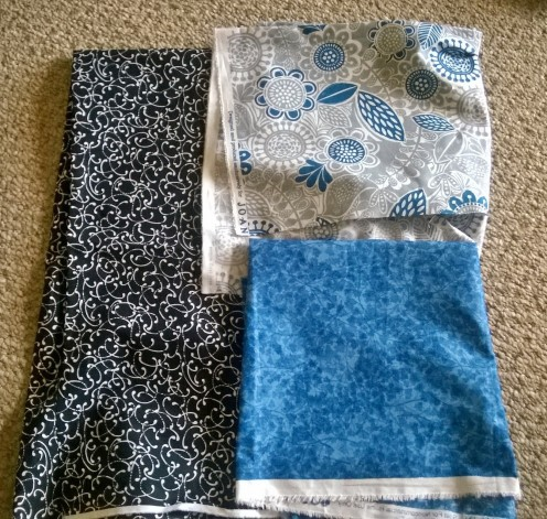 Folded fabrics to find a good design